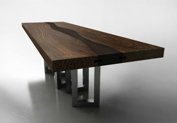 Find 5 Unique Wood Dining Tables Interior Decoration