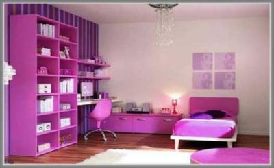 Girls' Purple Bedroom Decorating Ideas - Interior design
