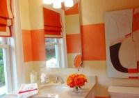 Orange Bathroom Decorating Ideas - Interior design
