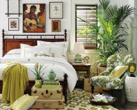 Tropical Bedroom Decorating Ideas - Interior design