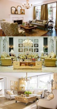 French country living room designs - Interior design
