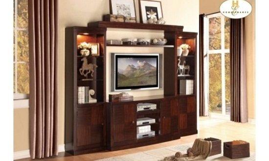 Elegant Entertainment Sets From Homelegance Interior Design