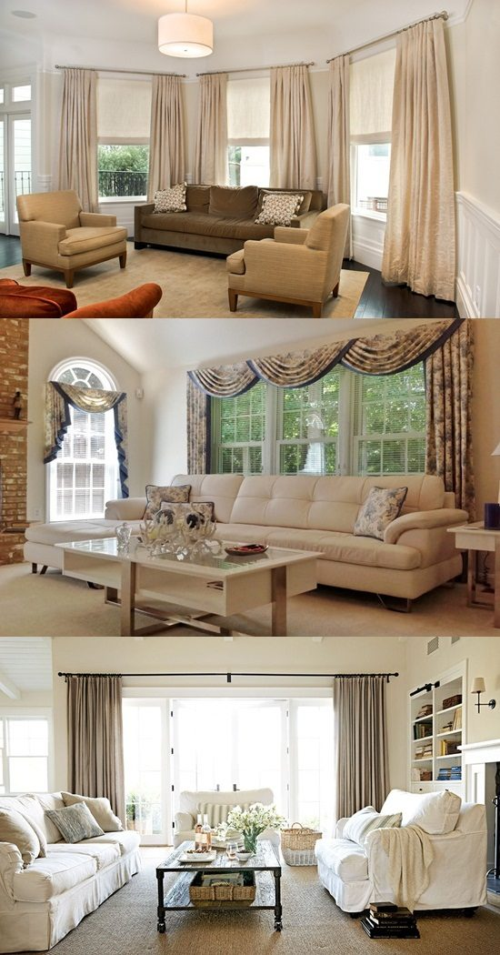 Tv In Front Of Window Interior Design Living Room Window Treatment Ideas - Interior Design