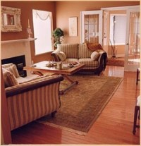 Decorating with an Area Rug - Interior design