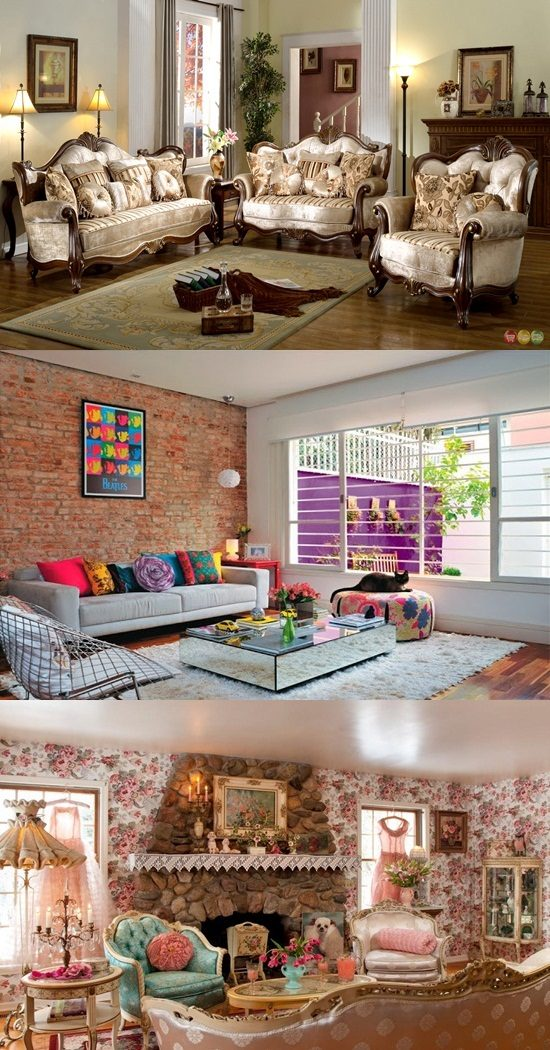 Easy Ways To Create A Vintage Style Living Room Interior