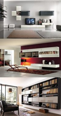 Modern Living Room Wall Units designs - Interior design