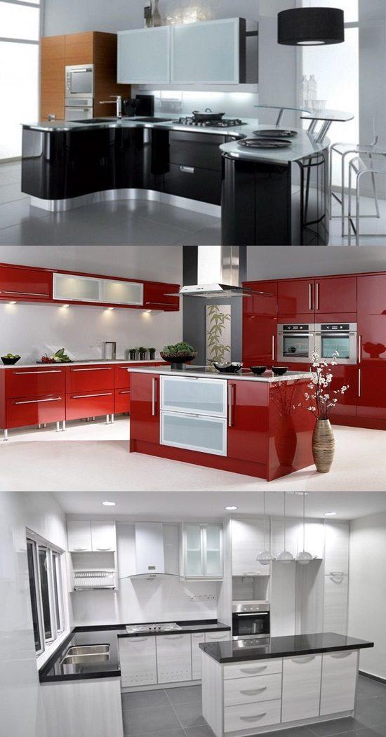 Choosing Kitchen Cabinets ~ Choosing the best kitchen cabinets interior design