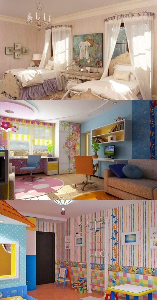 Creative ways to divide a shared bedroom for 2 kids interior design - Ways to divide a room ...