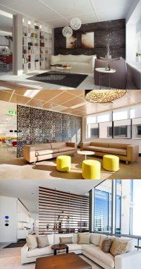 Modern Living room dividers - Interior design