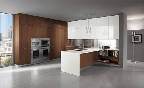 Pretty modern colors for your kitchen cabinet interior - Interesting colors modern kitchen ...