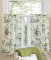 Beautiful Cottage Style Curtains - Interior design