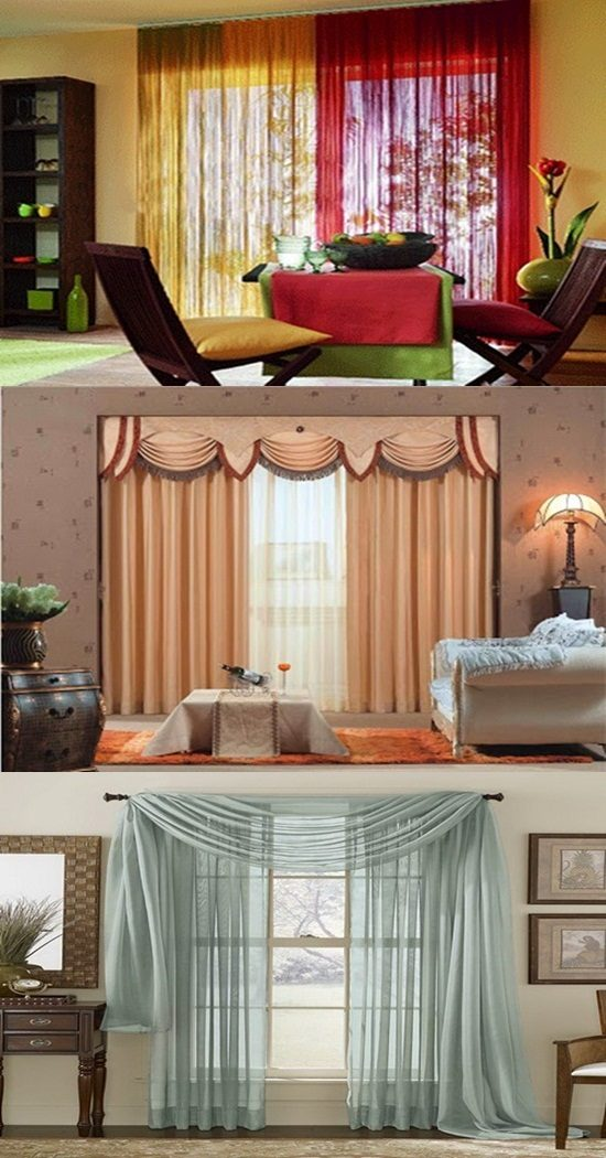 Different Types of Elegant Curtains - Interior design