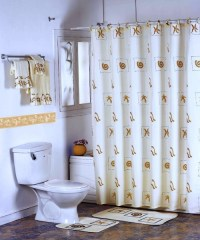 The Different Designs of the Shower Curtains - Interior design