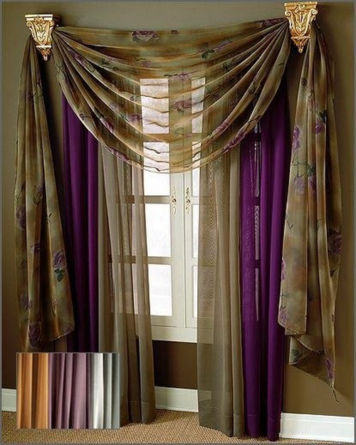 Contemporary curtains designs interior design - Latest interior curtain design ...