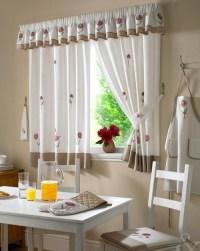 Contemporary Kitchen Curtain Designs - Interior design