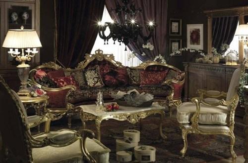 French Baroque Living Room Designs Interior Design