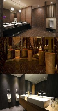 Commercial Bathroom Design - Interior design