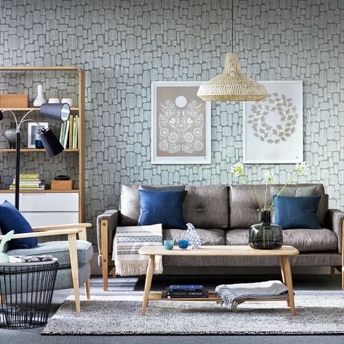 How To Choose The Ideal Wallpaper For Your Living Room Interior Design