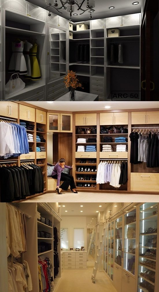 How to design a walk in closet in your bedroom interior for Design your own walk in closet