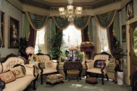 Victorian Living Room Curtain Ideas  Victorian Style ...