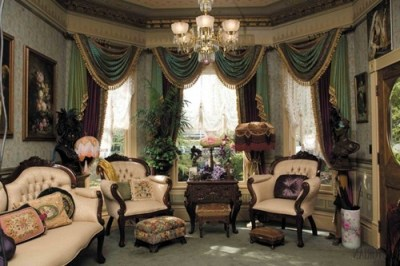 Victorian Living Room Curtain Ideas – Victorian Style ...