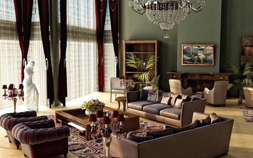 Victorian Living Room Curtain Ideas – Victorian Style - Interior