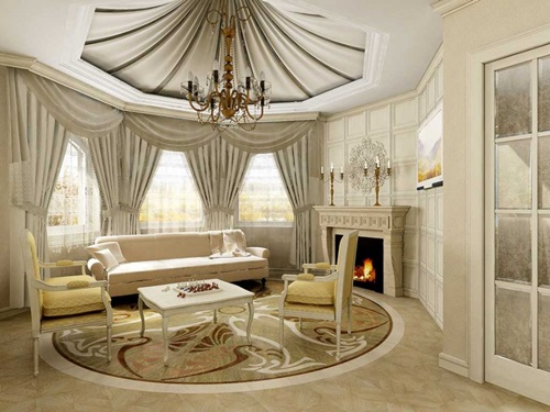 Advises For Decorating Luxury Living Room With The Appropriate - luxury curtains for living room
