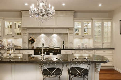 Elegant and Luxurious French Kitchen Design Ideas - Interior design - french kitchen design