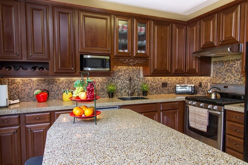 Tile Countertop Materials : Innovative Kitchen Countertop Materials and Designs - Interior design
