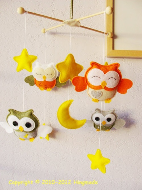 Awesome Ideas to Decorate your Kids\u0027 Room with DIY Owl Shapes