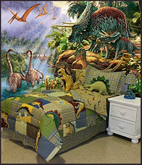 Magical Kids Room with a Dinosaur Theme - Interior design - dinosaur bedroom ideas