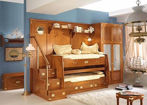 sea themed furniture for your kids bedroom interior design. Black Bedroom Furniture Sets. Home Design Ideas