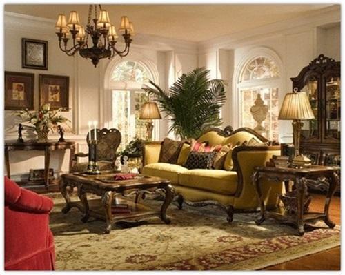 Amazing Ways to Decorate a Romantic Traditional Living Room - traditional living room ideas