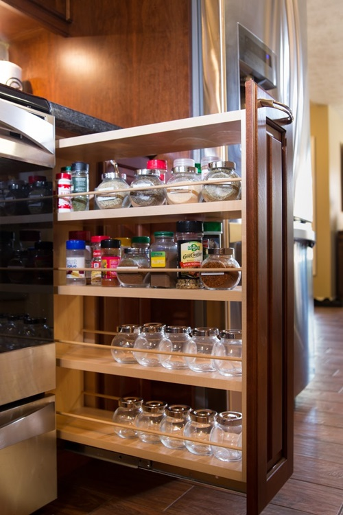 Stunning Spice Rack Designs That Will Liven Up Your
