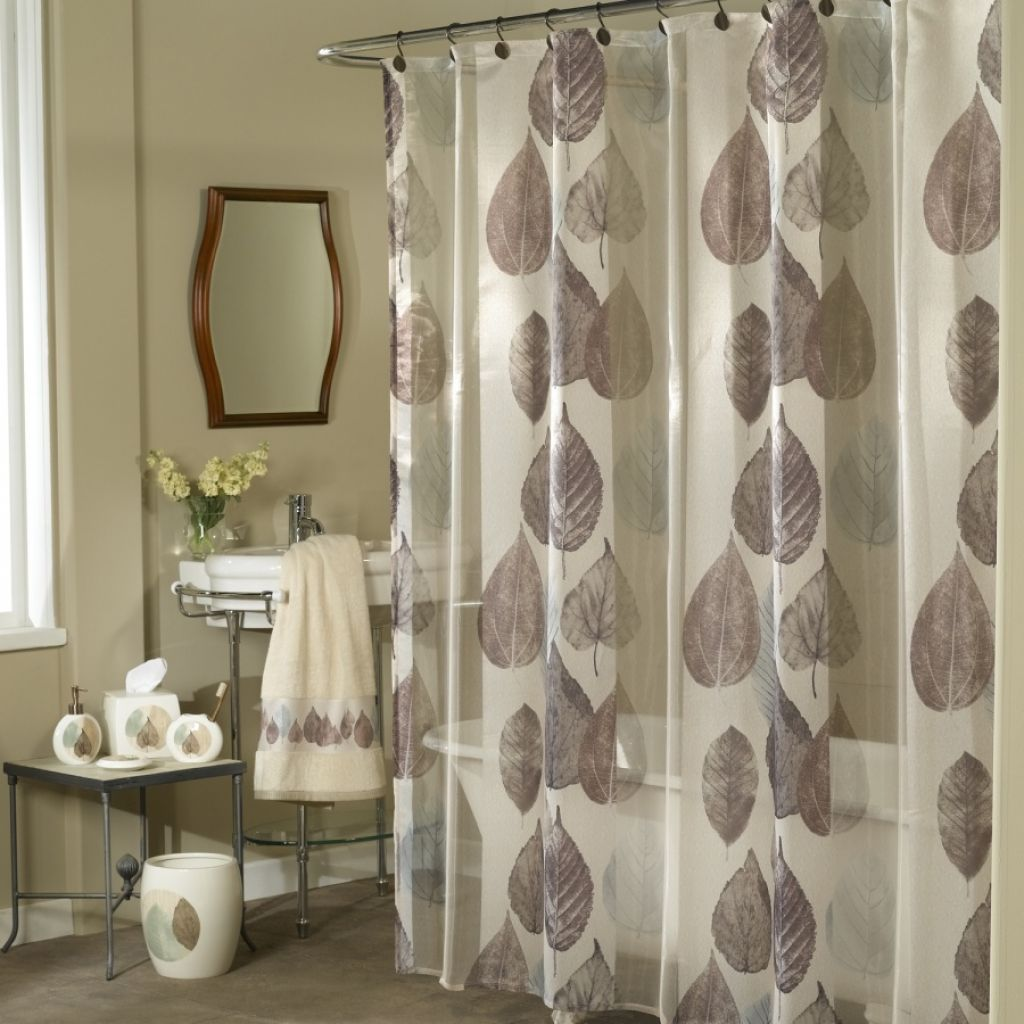 Adult theme shower curtain