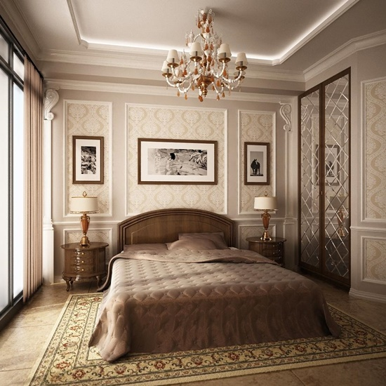 Enhance your bedroom look and mood with modern furniture for Fancy wallpaper for bedroom