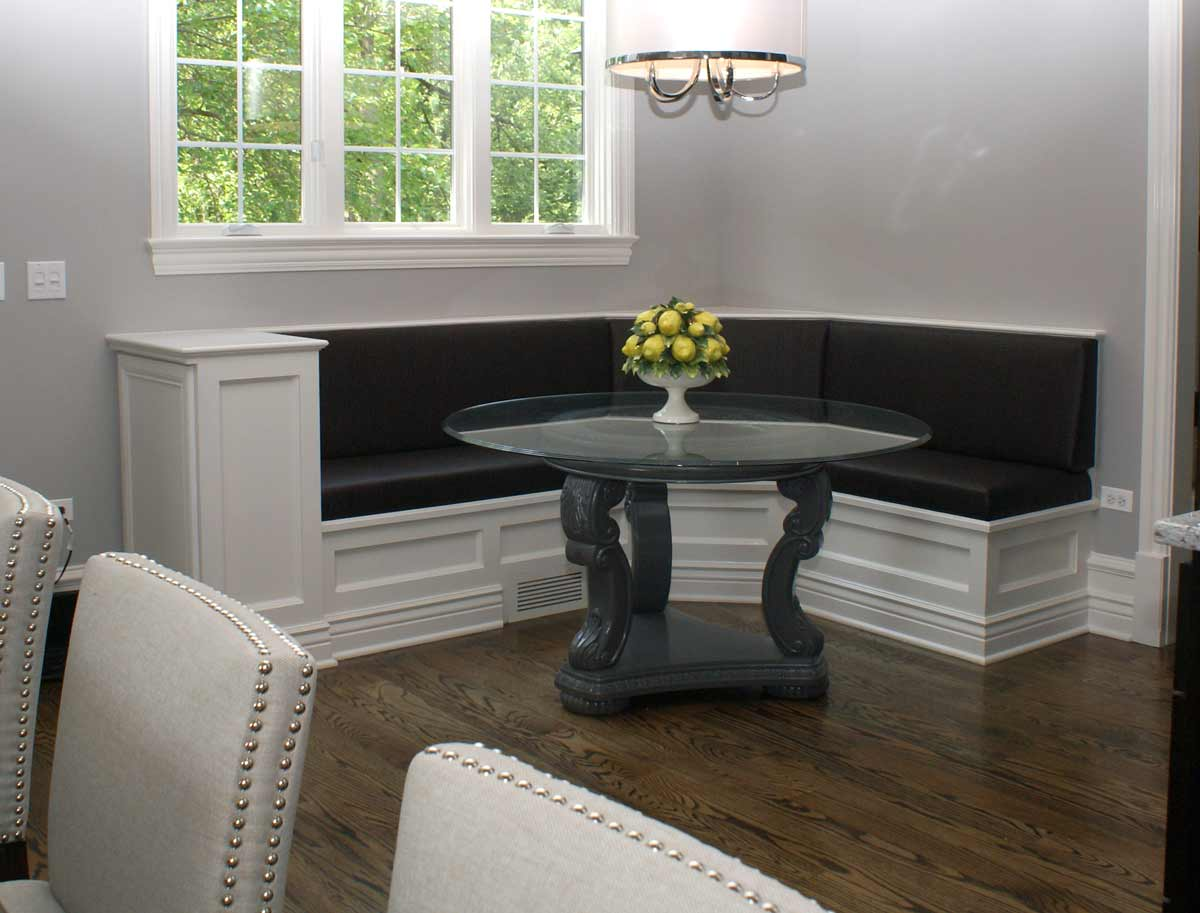 Petite Banquette Design Custom Upholstery Banquettes To Comfortably Enhance Home