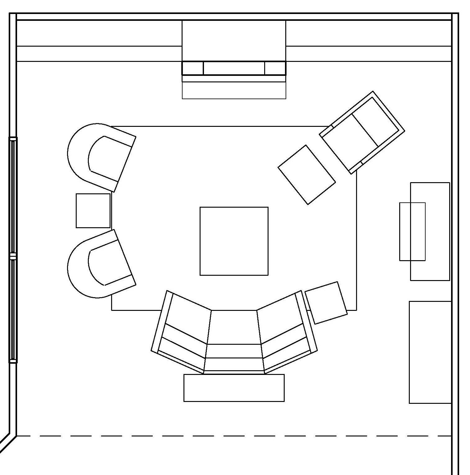 Drawing A Room Plan Southlake Client Downstairs Remodel Design Plan Revealed