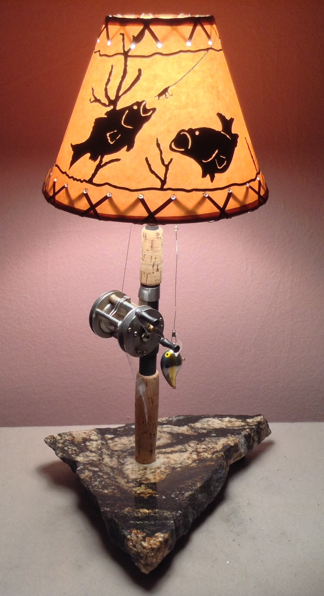 Space Themed Lamp The Essentials Of A Fishing Tackle Room Interior Design
