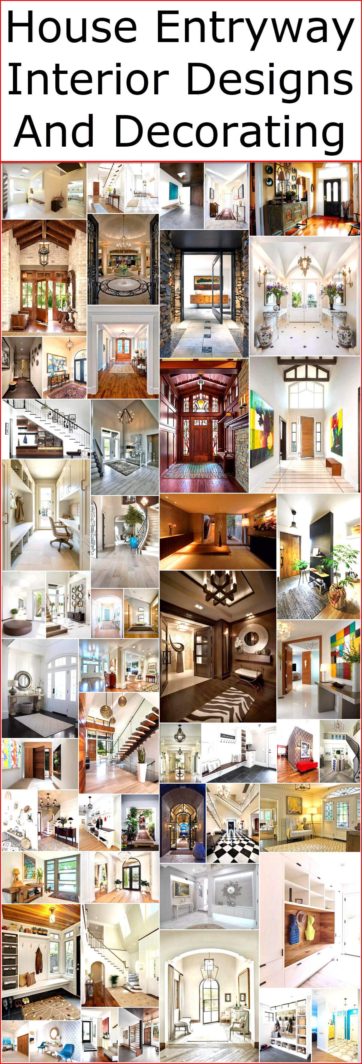 Designing Home House Entryway Interior Designs And Decorating Interior