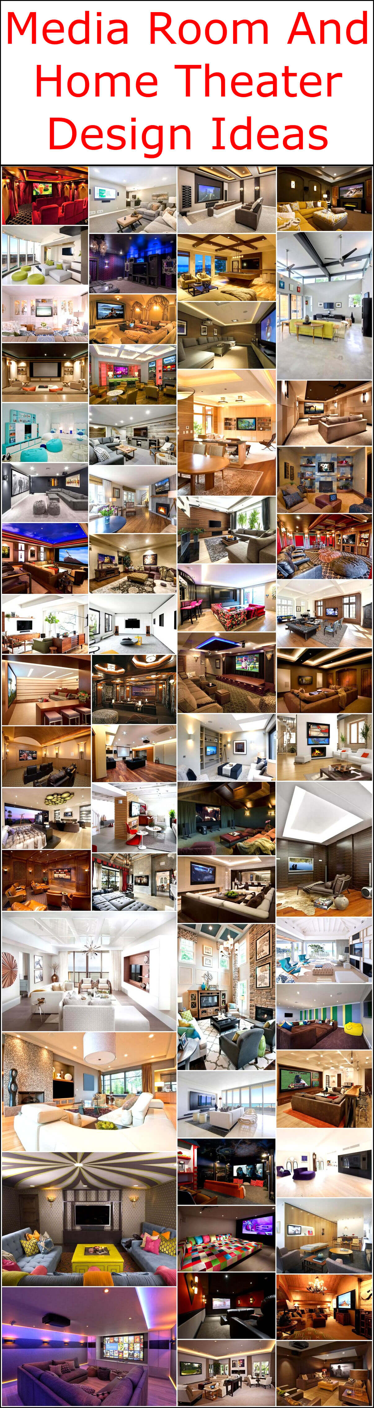 Designing Home Media Room And Home Theater Design Ideas Interior Designing Home