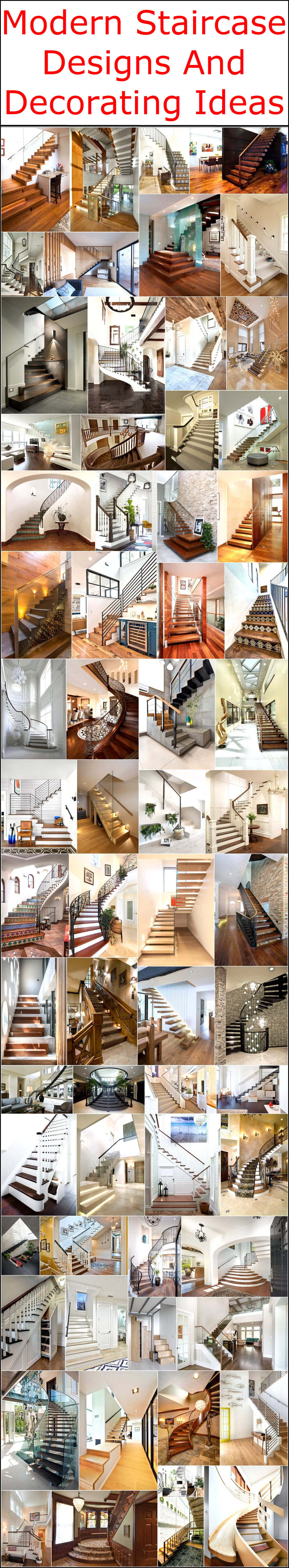 Designing Home Modern Staircase Designs And Decorating Ideas Interior Designing