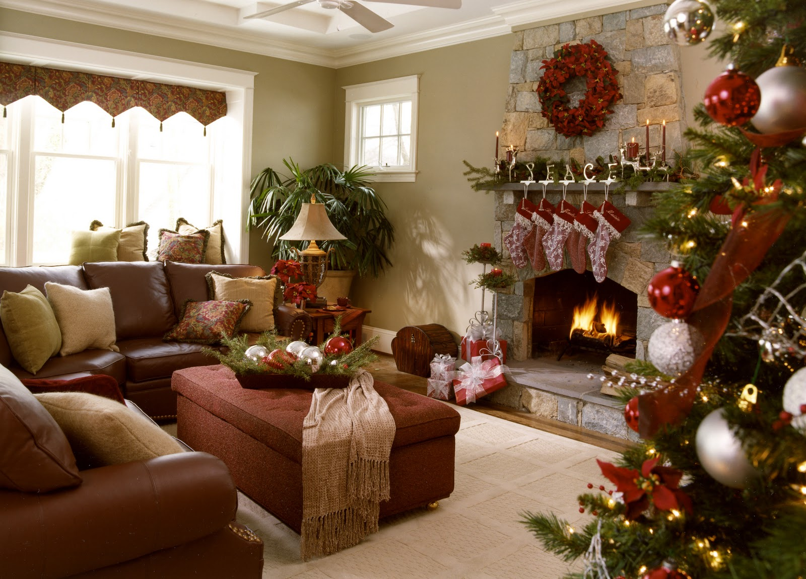50 Images Of Astonishing Christmas Living Room Decorating Ideas Hausratversicherungkosten