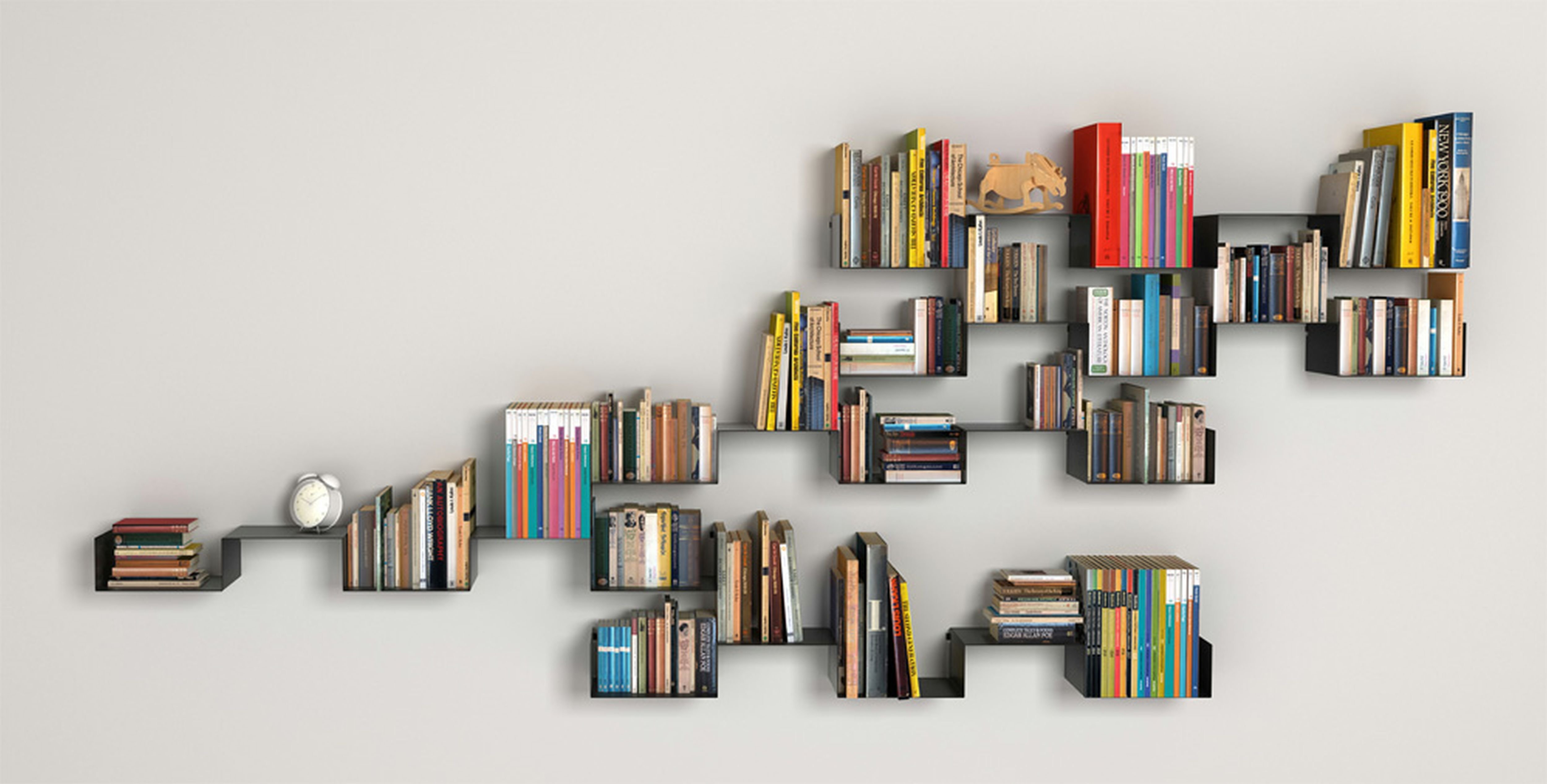 Bookshelves On Wall 10 Unique Bookshelves That Will Blow Your Mind Interior