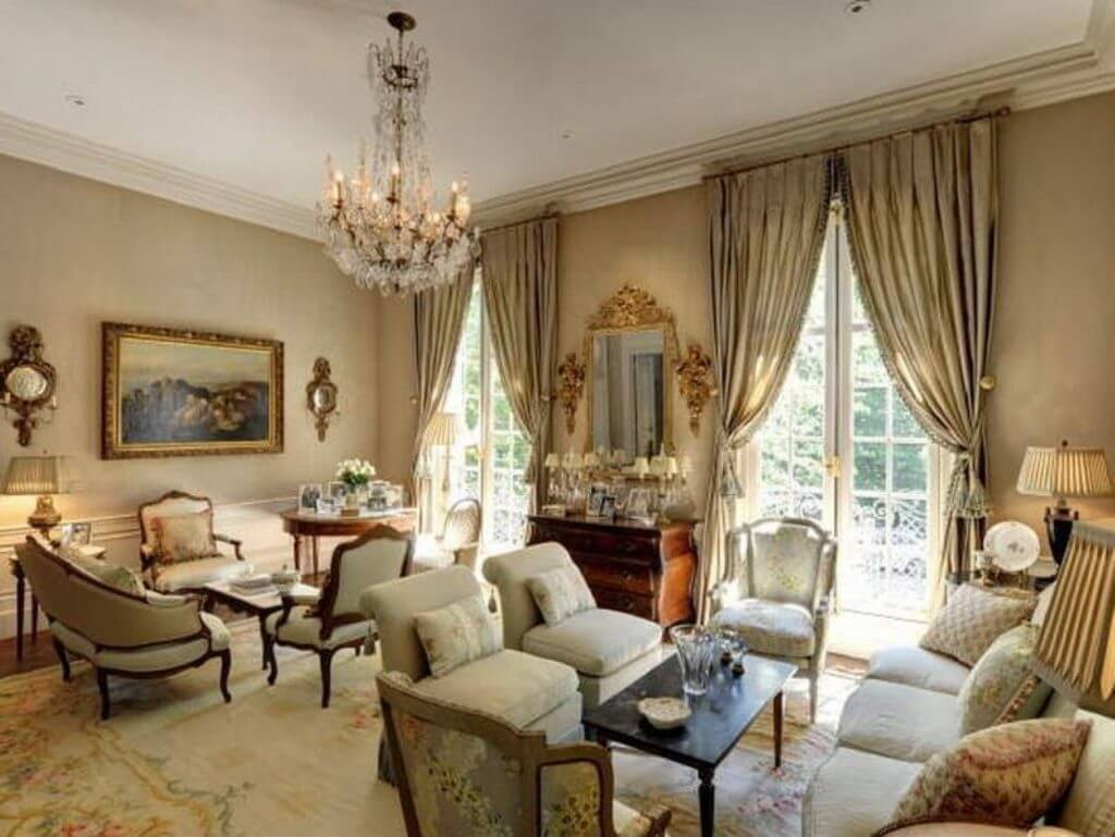 Living Room In French If You Like Glam And Shine You Will Love French Style Living
