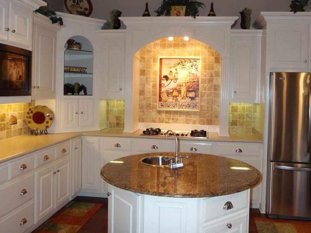 Kitchen Design With Round Island Kitchen Island Are More Practical Than Kitchen Bars