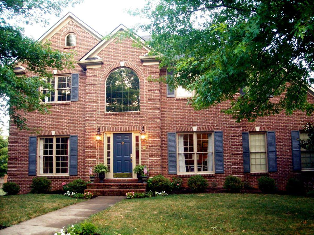 Best Exterior Paint Colors With Brick Home Design Ideas