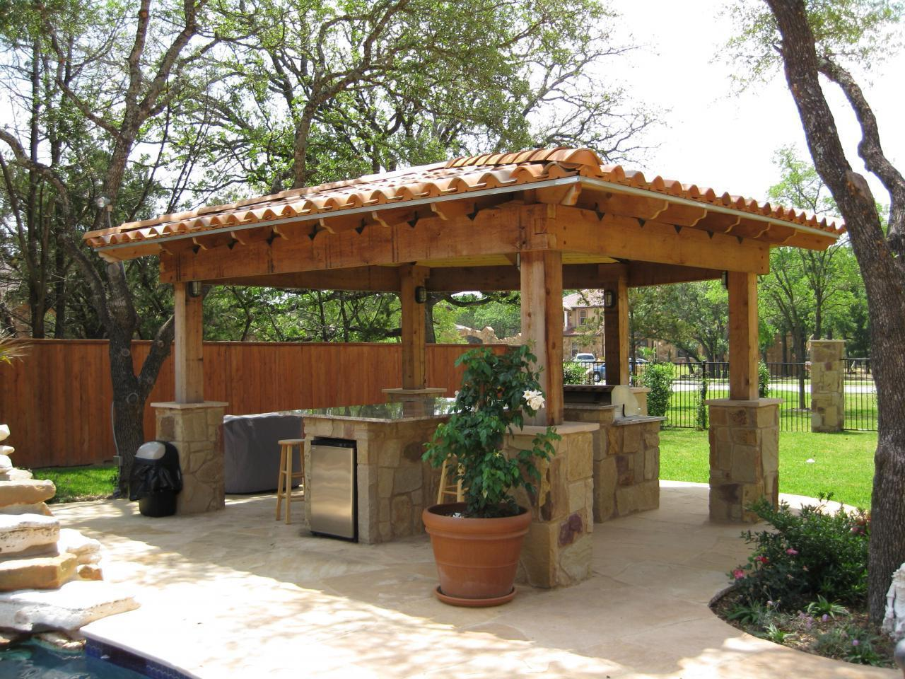 Outdoor Küche Do It Yourself Outdoor Kitchen Gazebo 20 Combinations Of Indoor And