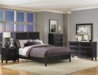 Decorate Your Bedroom with the Stylish Black lacquer ...