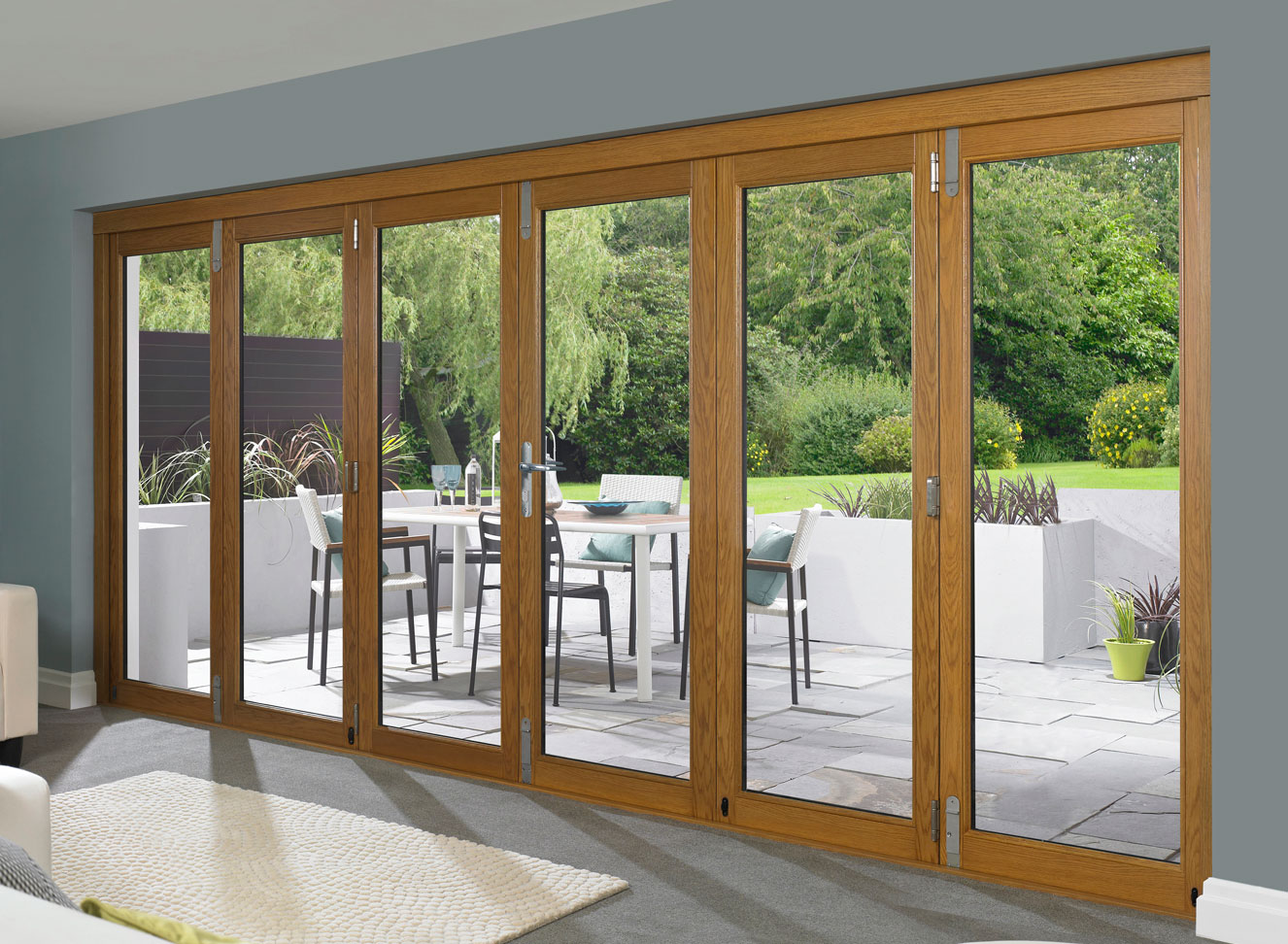 Schiebe Falttüren Aussen Folding French Doors Exterior The Door That Brings The